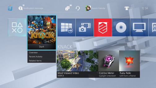 PS4 Dash Update 10-23-14