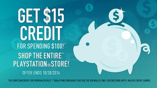 PSN $100 10-3-14