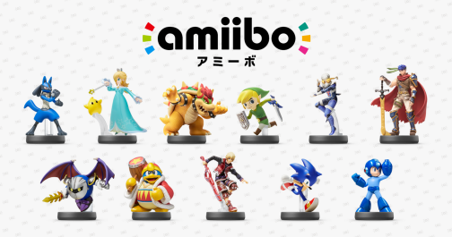 amiibo wave 3 and 4